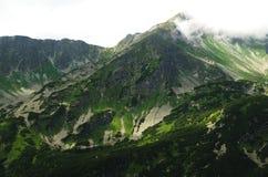 West-Tatra Berge Rohace, Slowakei Stockbild