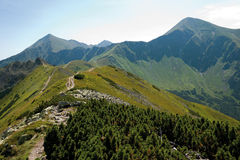 West Tatra Mountains Royalty Free Stock Images