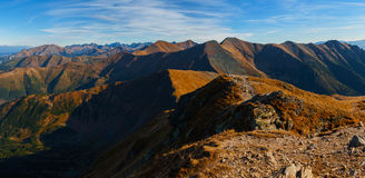 West Tatra mountains Royalty Free Stock Photos