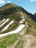 West Tatras Royalty Free Stock Photos