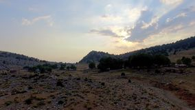 West Taurus Mountains. Aerial View stock footage