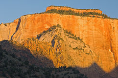 West Temple Zion Stock Image