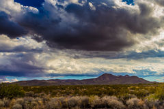 West Texas Landscape of Desert Area with Hills. Stock Photography