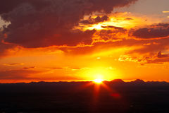 Free West Texas Sunset-1 Royalty Free Stock Photography - 79410077