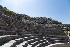 Free West Theatre Of Umm Qais (Umm Qays)-- Is A Town In Northern Jordan Near The Site Of The Ancient Town Of Gadara Royalty Free Stock Image - 50550486