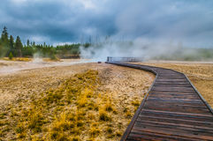 West Thumb Geyser Basin Royalty Free Stock Image