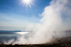 West Thumb Geyser Basin Stock Photos