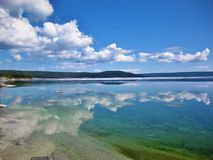 West Thumb Geyser Royalty Free Stock Photo