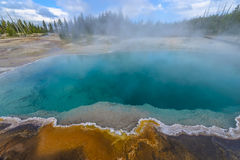 West Thumb - Yellowstone Royalty Free Stock Photography