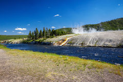 West Thumb in Yellowstone National Park , USA Royalty Free Stock Photography