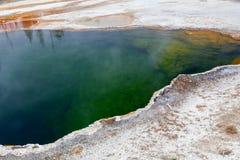 West Thumb, Yellowstone, Wyoming, USA royalty free stock photography