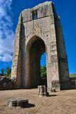 The West Tower of Shap Abbey Royalty Free Stock Image