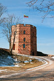 West Tower of the Upper Castle. Of Vilnius Royalty Free Stock Image
