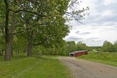 West Union Covered Bridge Royalty Free Stock Image