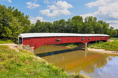 West Union Covered Bridge Stock Photos