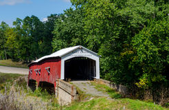 West union Covered bridge Stock Image