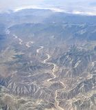 West Utah from above Royalty Free Stock Photography