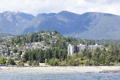 West Vancouver Beaches Royalty Free Stock Images