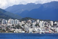 West Vancouver Skyline Stock Images