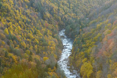 West viginia autumn Royalty Free Stock Images