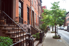 West village historic district of New York Royalty Free Stock Images