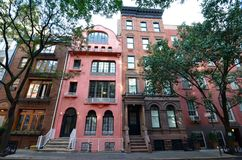West Village, NYC, USA. Royalty Free Stock Images