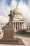 West Virginia Capital. An image of a statue of Abraham Lincoln in fornt of the West Virginia Capital building in Charleston West Virginia stock image