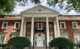 West Virginia Governors Mansion. West Virginia's governors mansion on bright sunny day Royalty Free Stock Photo