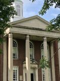 Marshall University Academic Building royalty free stock photos