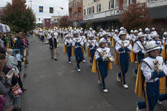 The West Virginia Marching Band Stock Photo