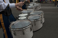 The West Virginia Marching Band Royalty Free Stock Image