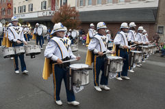 The West Virginia Marching Band royalty free stock photos