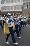 The West Virginia Marching Band stock images