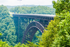 West Virginia's New River Gorge bridge carrying US 19 Stock Image