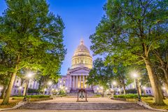 West Virginia State Capitol Royalty Free Stock Image