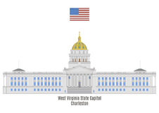 West Virginia State Capitol, Charleston Royalty Free Stock Images