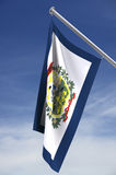 West Virginia state flag royalty free stock photos