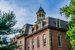 West Virginia University. The campus of West Virginia University, known as WVU, in Morgantown, West Virginia royalty free stock photo