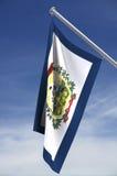 West- Virginiazustandmarkierungsfahne Lizenzfreie Stockfotos