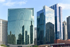 333 West Wacker Drive - Chicago Stock Image