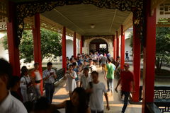 West warm Pavilion-President Office-China Nanjing Royalty Free Stock Images