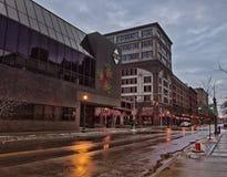 West Washington Street Royalty Free Stock Photography