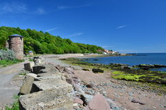 West Wemyss Shore Stock Images