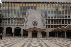 West Wing of Guildhall, London Stock Image