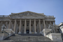 West Wing of US Capitol Building. West Wing of the United States Capitol Building in Washington D.C Stock Image