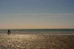 West Wittering beach and sea Stock Photos