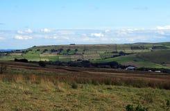 West Yorkshire Landschaft in blackshaw Kopf nahe hebden Brücke Stockbilder