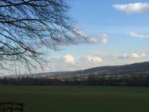 West Yorkshire Landschaftsfeld Lizenzfreie Stockbilder