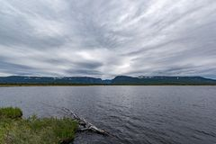 Westbach-Teich Gros Morne National Park, Neufundland lizenzfreie stockfotografie