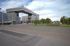Westbahnhof Wien royalty free stock photography